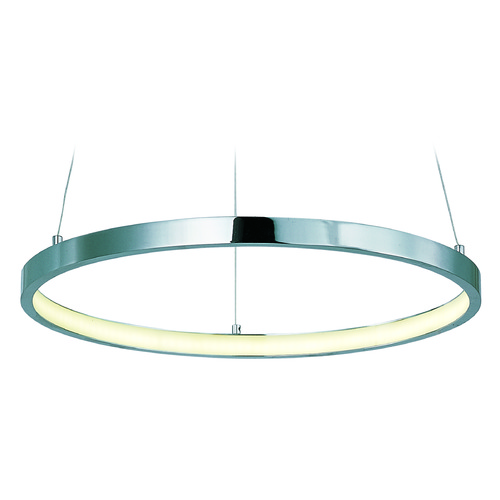 ET2 Lighting Hoops LED Polished Chrome LED Pendant Light E22712-PC