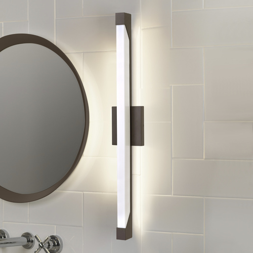 Hinkley Vista Bronze LED Bathroom Light - Vertical Mounting Only 12304BZ
