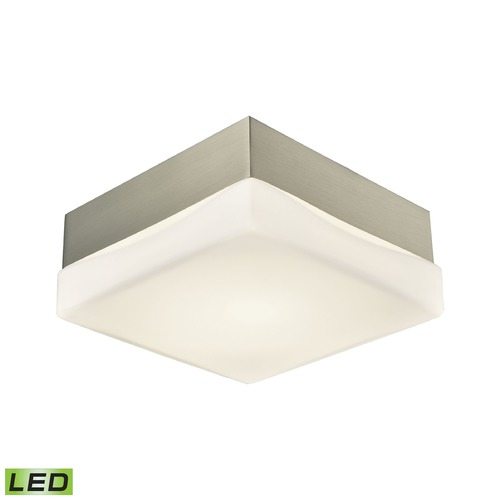 Alico Industries Lighting Alico Lighting Wyngate Satin Nickel LED Flushmount Light FML2000-10-16M