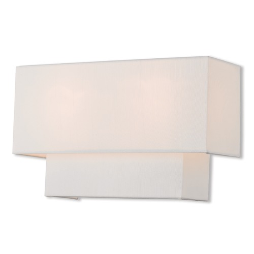 Livex Lighting Livex Lighting Claremont Brushed Nickel Sconce 51046-91