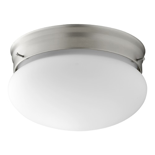 Quorum Lighting Quorum Lighting Satin Nickel Flushmount Light 3023-6-65