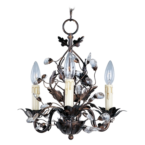 Maxim Lighting Mini-Chandelier in Oil Rubbed Bronze Finish 2855OI