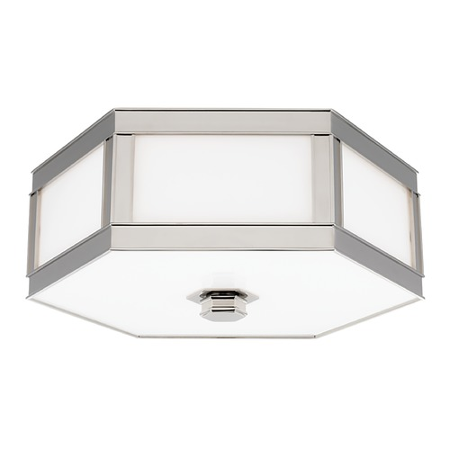Hudson Valley Lighting Hudson Valley Lighting Nassau Polished Nickel Flushmount Light 6413-PN