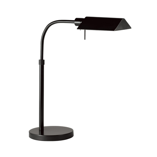 Sonneman Lighting Modern Pharmacy Lamp in Satin Black Finish 7004.25