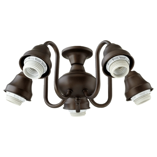Quorum Lighting Quorum Lighting Oiled Bronze Fan Light Kit 2530-8086