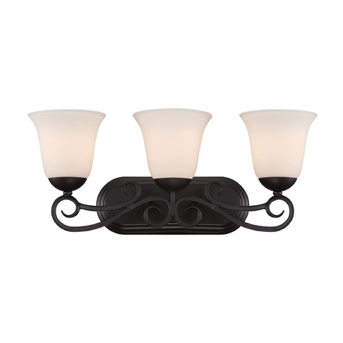 Designers Fountain Lighting Designers Fountain Addison Oil Rubbed Bronze Bathroom Light 85203-ORB