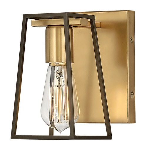 Hinkley Lighting Hinkley Lighting Filmore Heritage Brass / Oil Rubbed Bronze Sconce 5160HB