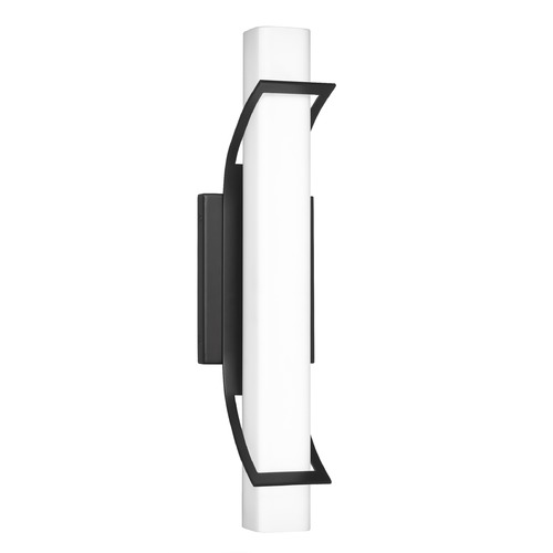 Quoizel Lighting Quoizel Lighting Blade Medium Earth Black Integrated LED Bathroom Light 3000K PCBD8519EK
