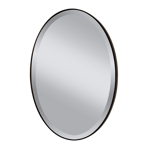 Feiss Lighting Johnson Oval 24.38-Inch Mirror MR1126ORB