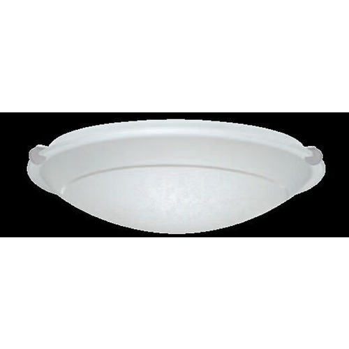 Besa Lighting Besa Trio 16 Satin Nickel LED Flushmount Light 9681SFR-SN
