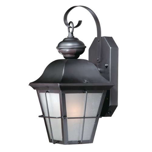 Vaxcel Lighting Vaxcel New Haven Oil Rubbed Bronze Outdoor Wall Light SR53133OR
