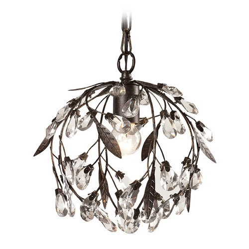 Elk Lighting Crystal Mini-Pendant Light 18133/1