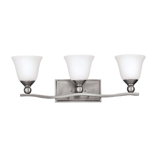 Hinkley Lighting Hinkley Lighting Bolla Brushed Nickel Bathroom Light 5893BN-GU24