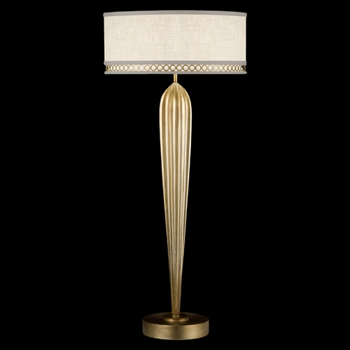 Fine Art Lamps Fine Art Lamps Allegretto Gold Burnished Gold Leaf with Subtle Brown Highlights Table Lamp with Drum 792915-2ST