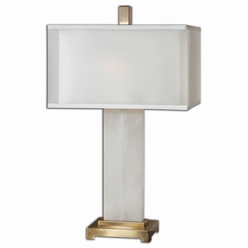 Uttermost Lighting Uttermost Athanas Alabaster Lamp 26136-1