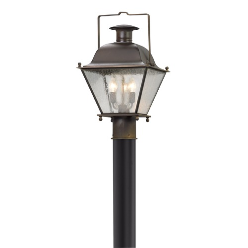 Troy Lighting Troy Lighting Wellesley Natural Rust Post Light P5075NR