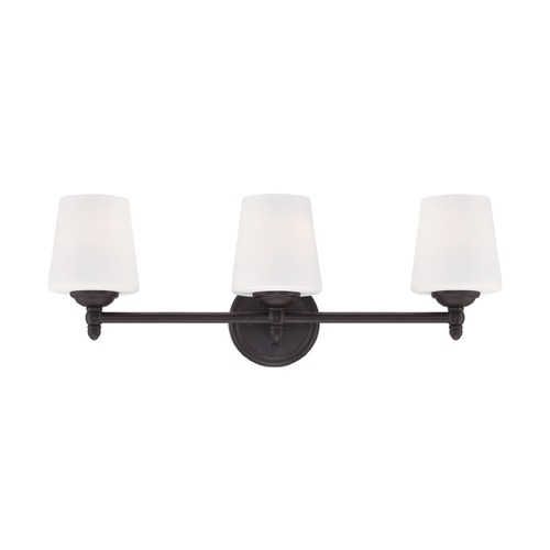 Designers Fountain Lighting Designers Fountain Darcy Oil Rubbed Bronze Bathroom Light 15006-3B-34