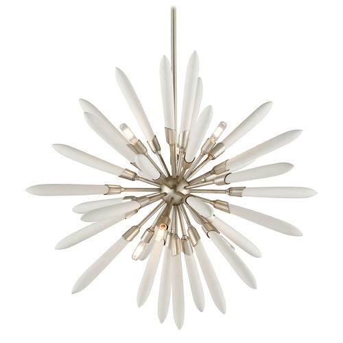 Corbett Lighting Corbett Lighting Altitude Modern Silver Leaf Pendant Light 217-46