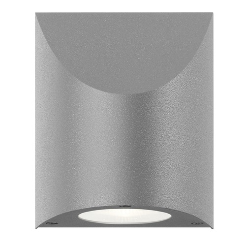 Sonneman Lighting Sonneman Shear Textured Gray LED Outdoor Wall Light 7223.74-WL