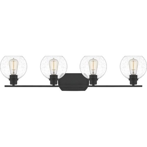 Quoizel Lighting Quoizel Lighting Pruitt Matte Black Bathroom Light PRUS8636MBK