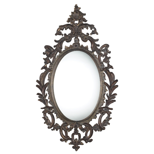 Sterling Lighting Berkeley Oval 29-Inch Mirror DM1995