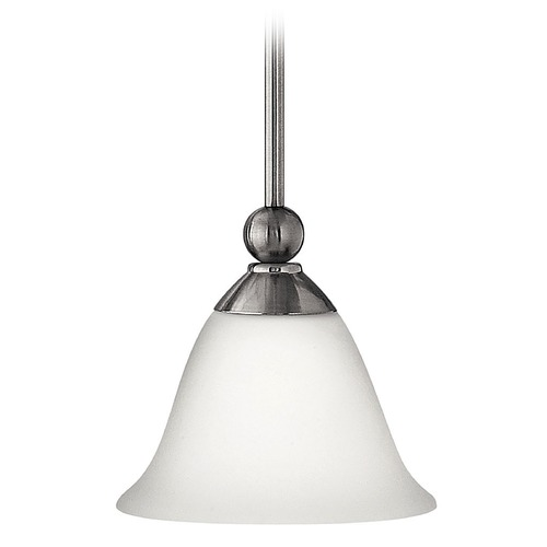 Hinkley Lighting Mini-Pendant with Bell Shade 4667BN
