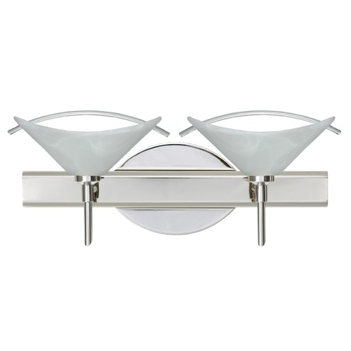 Besa Lighting Besa Lighting Hoppi Chrome Bathroom Light 2SW-181304-CR