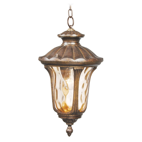 Livex Lighting Livex Lighting Oxford Moroccan Gold Outdoor Hanging Light 7654-50