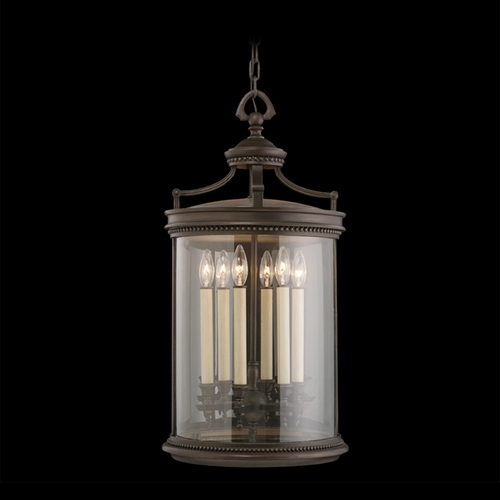 Fine Art Lamps Fine Art Lamps Louvre Bronze Outdoor Hanging Light 538182ST