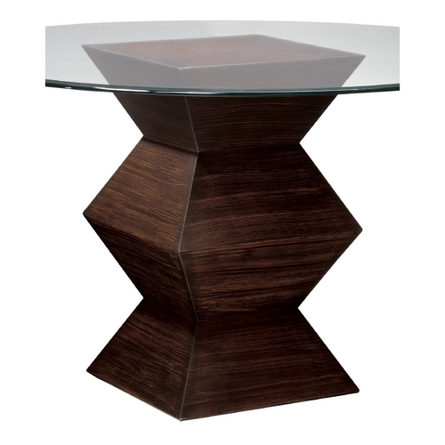 Sterling Lighting Sterling Lighting Zebrano Accent Table 6043240
