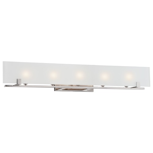 Nuvo Lighting Nuvo Lighting Lynne Polished Nickel Bathroom Light 60/5178