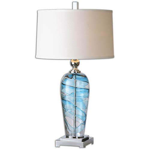 Uttermost Lighting Uttermost Andreas Blown Glass Lamp 26137-1