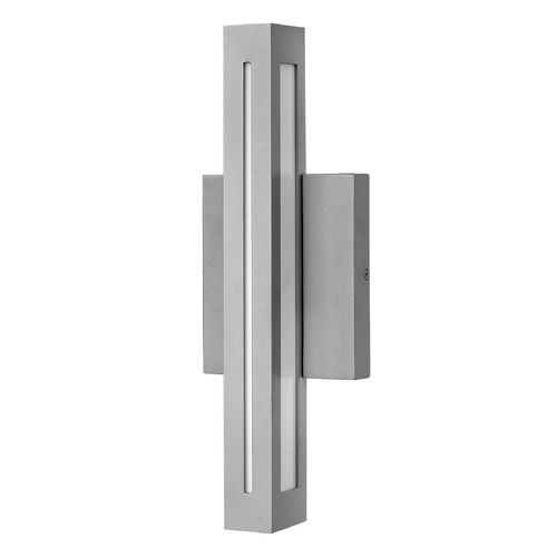 Hinkley Lighting Hinkley Lighting Vue Titanium LED Outdoor Wall Light 12312TT