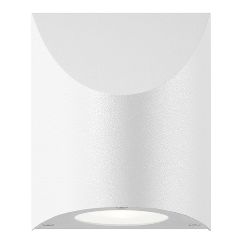Sonneman Lighting Sonneman Shear Textured White LED Outdoor Wall Light 7223.98-WL