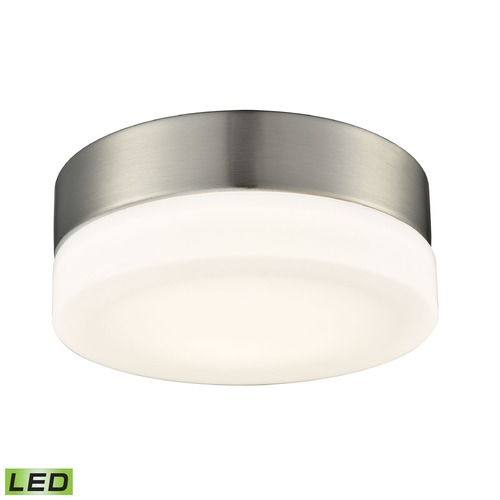 Alico Industries Lighting Alico Lighting Holmby Satin Nickel LED Flushmount Light FML4025-10-16M