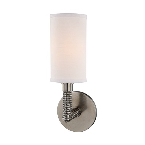 Hudson Valley Lighting Hudson Valley Lighting Dubois Historic Nickel Sconce 1021-HN