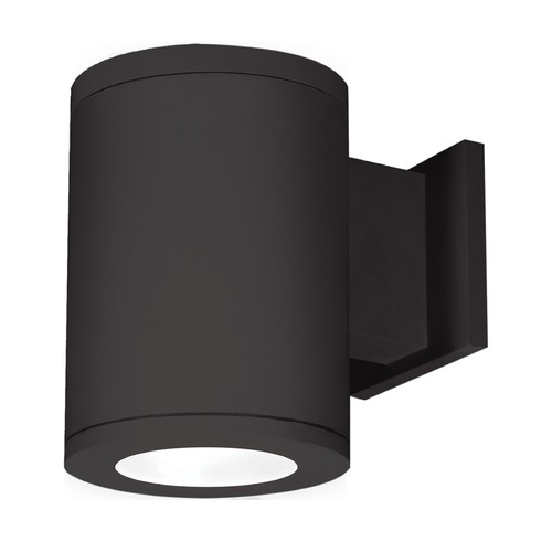 WAC Lighting 6-Inch Black LED Tube Architectural Wall Light 4000K 2905LM DS-WS06-F40B-BK