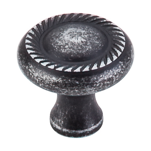 Top Knobs Hardware Cabinet Knob in Black Iron Finish M327