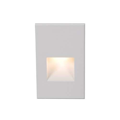 WAC Lighting WAC Lighting Ledme White LED Recessed Step Light with White LED WL-LED200F-C-WT