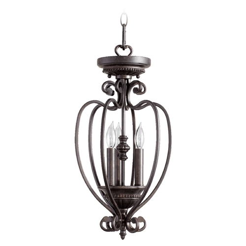 Quorum Lighting Quorum Lighting Summerset Toasted Sienna Pendant Light 6826-6-44