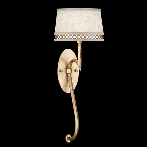 Fine Art Lamps Fine Art Lamps Allegretto Gold Burnished Gold Leaf with Subtle Brown Highlights Sconce 784650-2ST