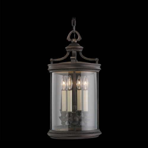 Fine Art Lamps Fine Art Lamps Louvre Bronze Outdoor Hanging Light 538282ST