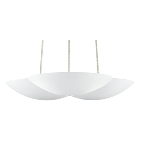 Sonneman Lighting Sonneman Little Cloud Textured White LED Mini-Pendant Light   2734.98