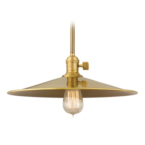 Hudson Valley Lighting Hudson Valley Lighting Heirloom Old Bronze Pendant Light with Coolie Shade 9001-OB-MM1