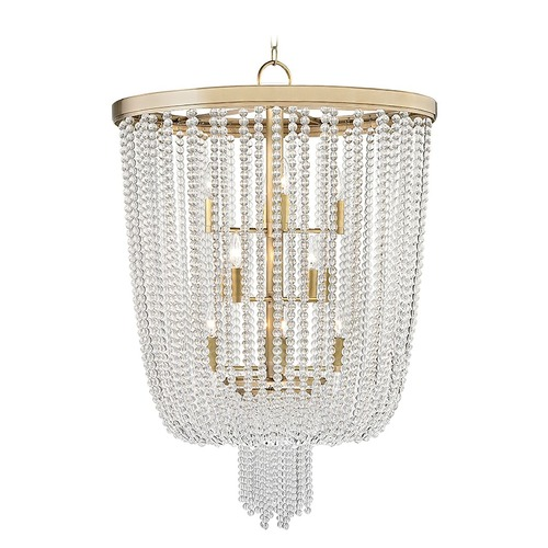 Hudson Valley Lighting Hudson Valley Lighting Royalton Aged Brass Pendant Light 9026-AGB