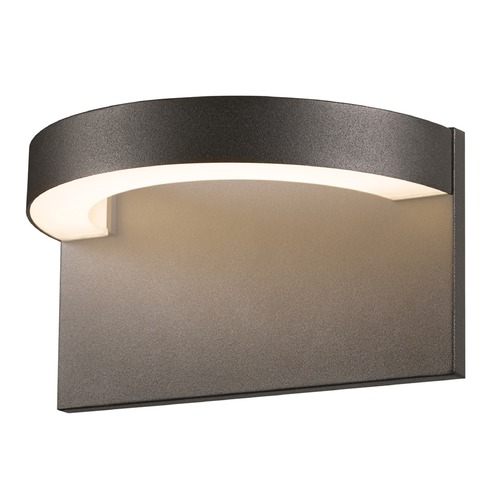 Sonneman Lighting Sonneman Cusp Textured Bronze LED Outdoor Wall Light 7226.72-WL