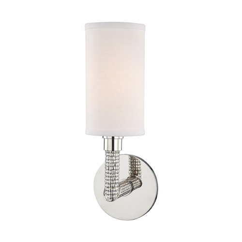 Hudson Valley Lighting Hudson Valley Lighting Dubois Polished Nickel Sconce 1021-PN