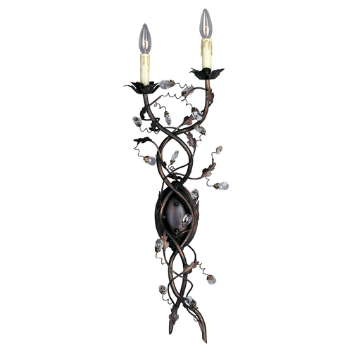 Maxim Lighting Sconce Wall Light in Oil Rubbed Bronze Finish 2858OI