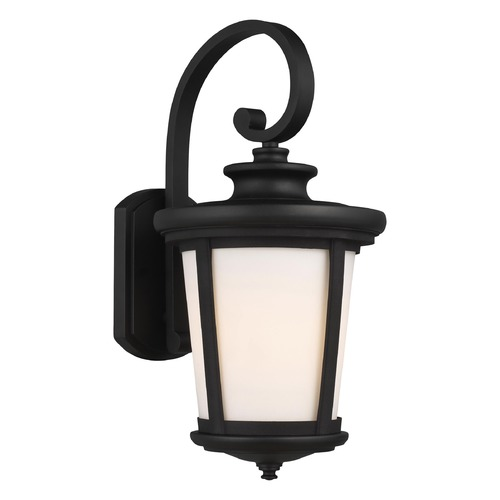 Sea Gull Lighting Sea Gull Lighting Eddington Black Outdoor Wall Light 8719301-12