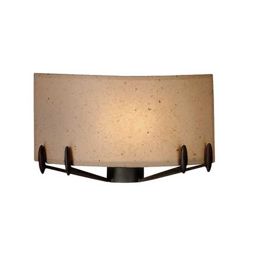 Singlelight Sconce With Artisan Paper Shade F51449Nv